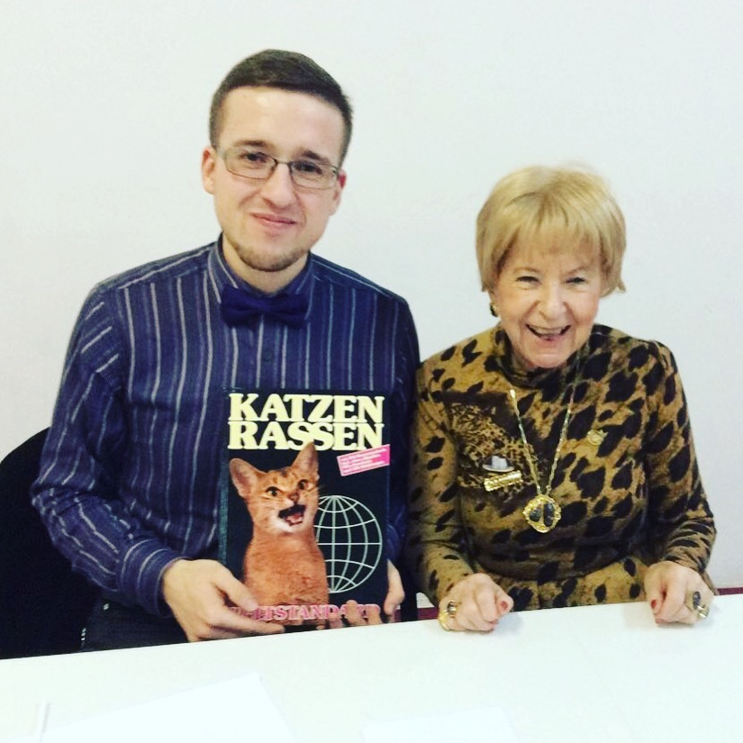 Pavel Kijanets and Anneliese Hackmann