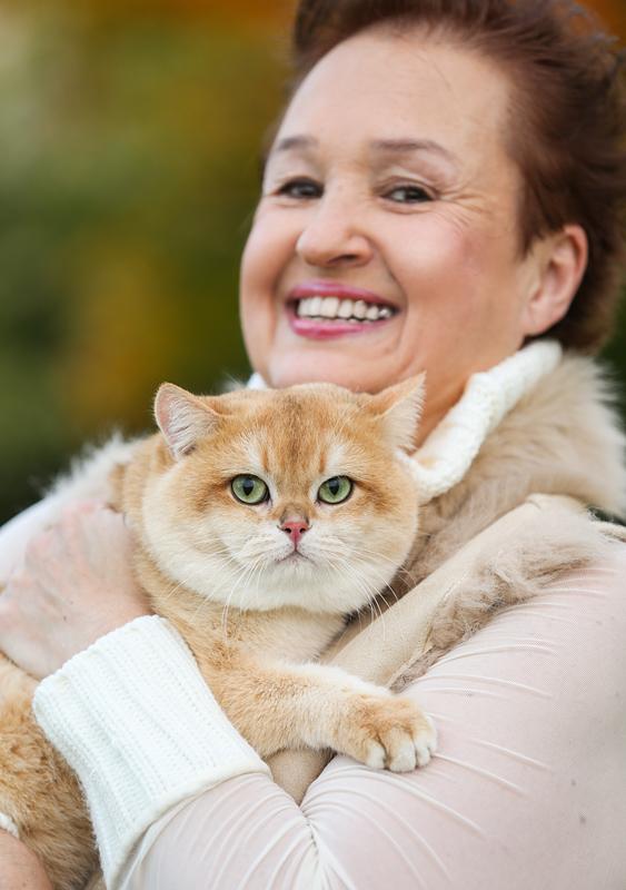 Larissa Kijanets, Golden Neko owner-breeder