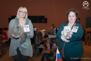 Larissa Kijanets and Silver Ameli of Golden Neko